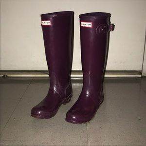 Original Tall Gloss Hunter Rainboots